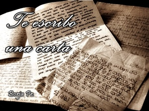 Te escribo una carta
