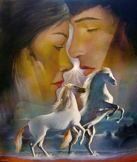 8-los-caballos-del-amor-tecnica-mixta-sobre-lienzo-116x89-cm